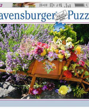 Puzzel ravensburger bloemschikken 500pcs