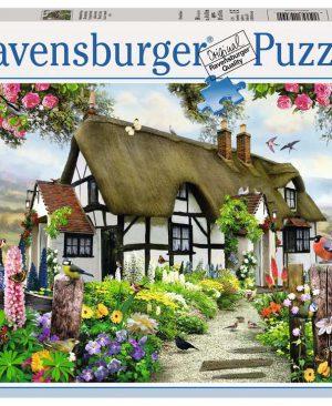 Puzzel ravensburger Idyllische Cottage 500pcs