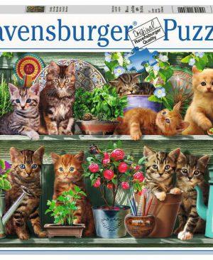 Puzzel ravensburger Katjes in het rek 500pcs