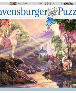 Puzzel ravensburger Sprookjesachtige idylle bij de rivier 500pcs