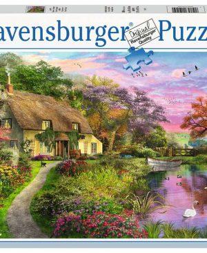 Puzzel ravensburger Landhuis 500pcs