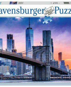 Puzzel Ravensburger Van Brooklyn naar Manhattan 16011