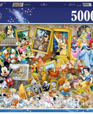 Puzzel ravensburger Disney Mickey als kunstenaar 17432