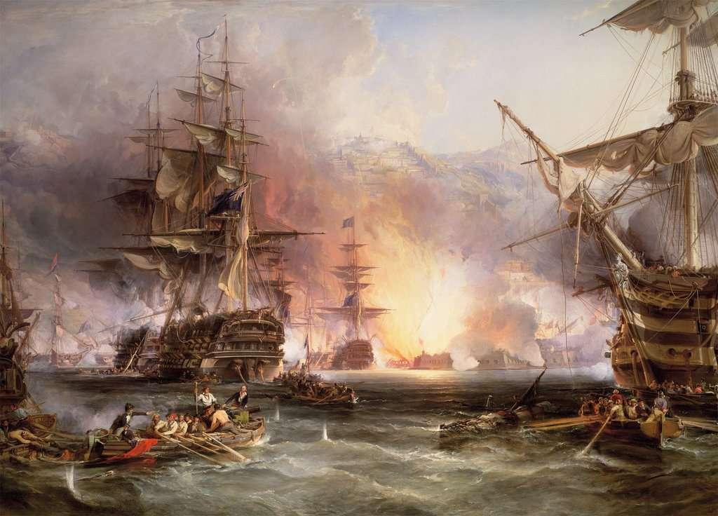 Puzzel Ravensburger Bombardement van Algiers 17806_2