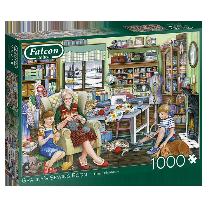 Falcon – Granny's Sewing room – 11273 – Jumbo