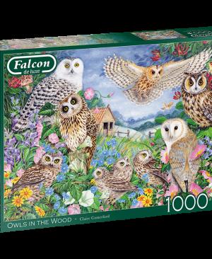 Falcon - Owls in the wood - 11286 - Jumbo