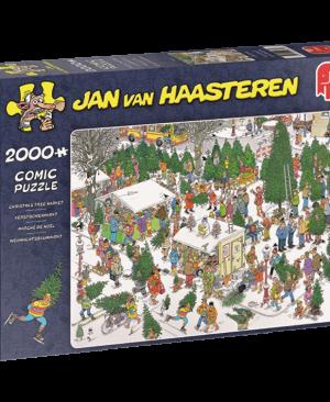Jan van Haasteren Kerstbomenmarkt - 19062 - Jumbo