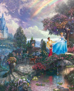 Cinderella by Thomas KinkadeSC59472-w-Schmidt