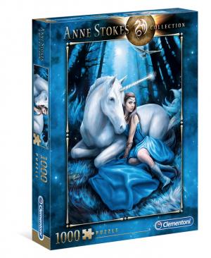 Blue Moon 39462 - Anne Stokes - puzzel 1000 stuks - Clementoni