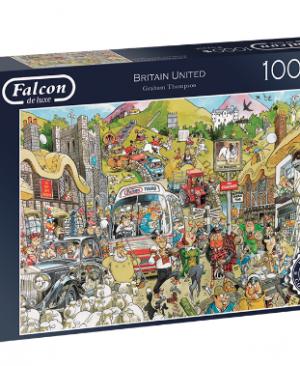Falcon - Britain United 11197 - puzzel 1000 stuks