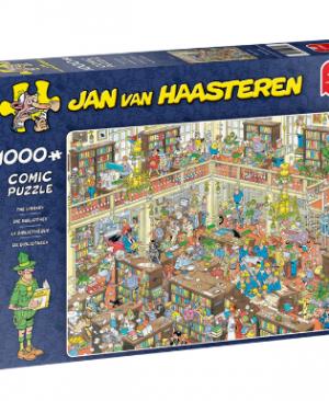 Jan van Haasteren - Die Bibliotheek 19092 - puzzel 1000 stuks