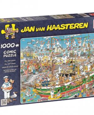 Jan van Haasteren - Tall ship chaos 19014 - puzzel 1000 stuks