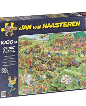 Jan van Haasteren-Grasmaaierrace 19021 - puzzel 1000 stuks