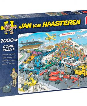 Jan van Haasteren - Formule 1 De start 19097 - puzzel 2000 stuks