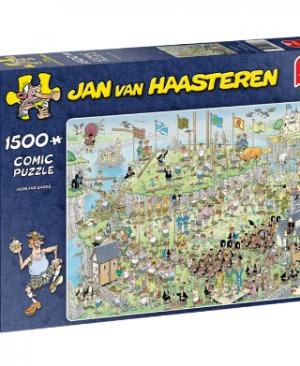 Jan van Haasteren - Highland Games 19088 - puzzel 1500 stuks