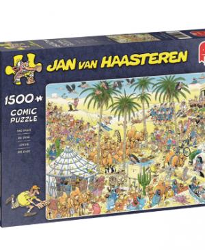 Jan van Haasteren - De Oase 19059 - puzzel 1500 stuks