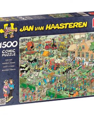 Jan van Haasteren - Boerderij Bezoek 17077- puzzel 1500 stuks