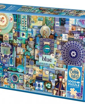 Blue 80150 puzzel 1000 stuks Cobble Hill