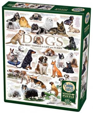 Dog Quotes 80096 puzzel 1000 stuks Cobble Hill