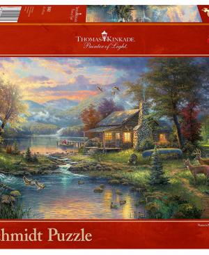Schmidt- Nature's paradise 59467 - puzzel 1000 stuks Schmidt - Thomas Kinkade