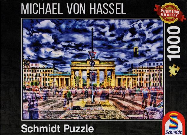 Brandenburger toren Berlijn 59332 – puzzel 1000 stuks Schmidt