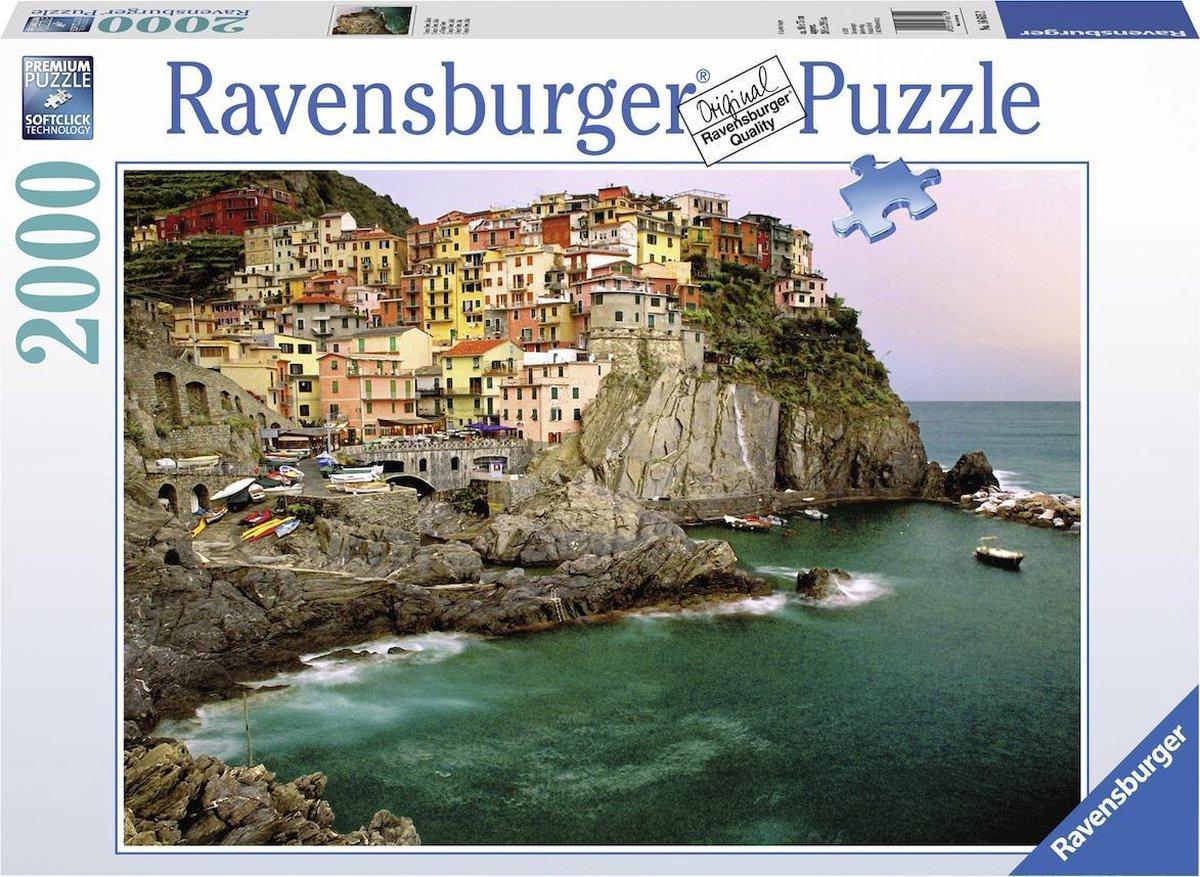 Cinque Terre Italie – 16615 – Ravensburger -puzzel  2000 stuks