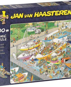 De Sluizen - 19067 - Jan Van Haasteren puzzel 1000 stuks