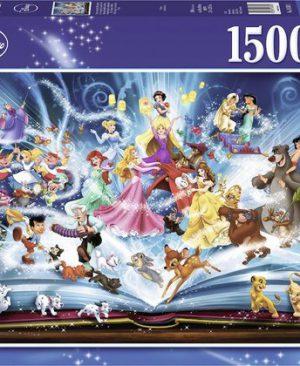 disney's Magische Sprookjesboek - 16382 - Ravensburger - puzzel 1500 stuks