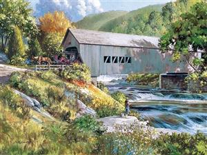 Covered Bridge - 88031 - Cobble Hill - puzzel 275 stuks