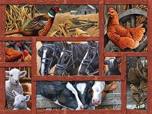 FarmYard Friens - 88032-Cobble Hill - puzzel 275 stuks