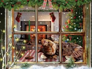 Cat Nap -88033-Cobble Hill - puzzel 275 stuks