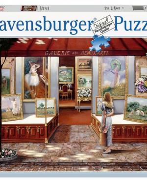Kunstgalerie - 16466 - Ravensburger - puzzel 3000 stuks