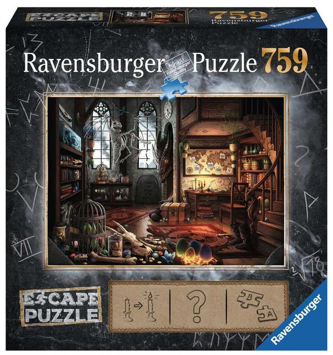 Escape puzzle – Draken laboratorium-19960#ravensburger