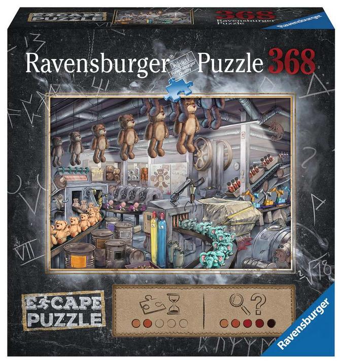 Escape puzzel – Toy Factory- Ravensburger