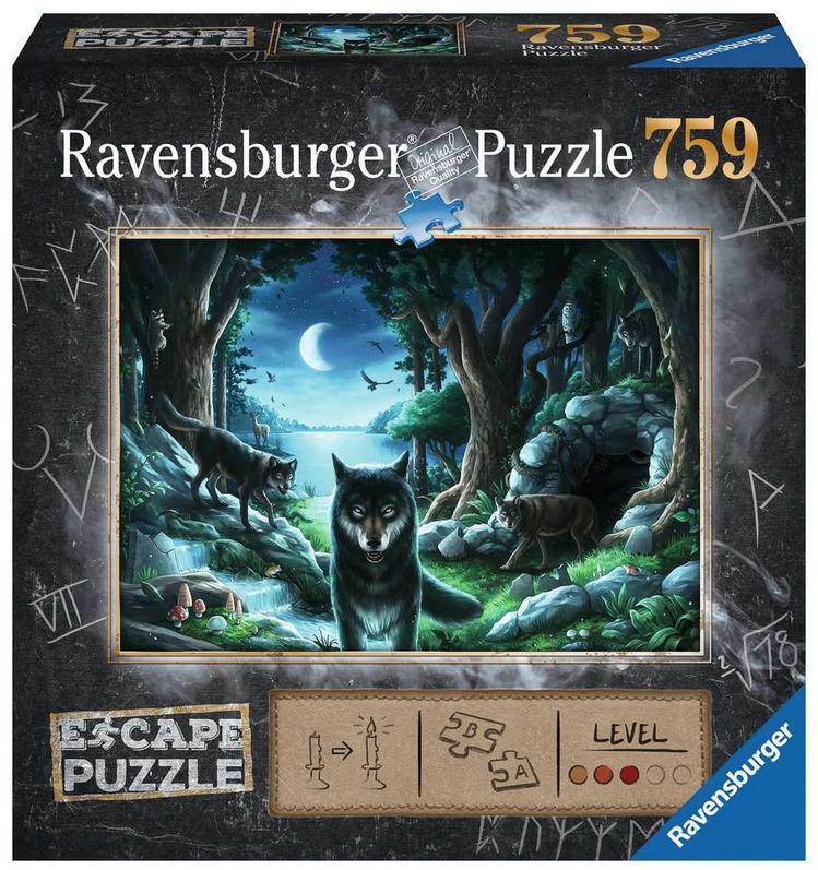 ESCAPE 7 Curse of the Wolves-Ravensburger