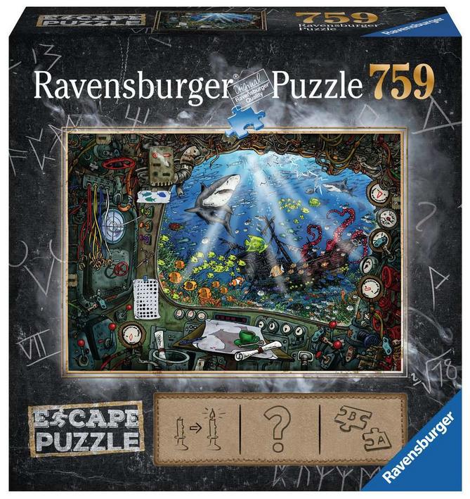 Escape puzzle – De onderzeeër-Ravensburger