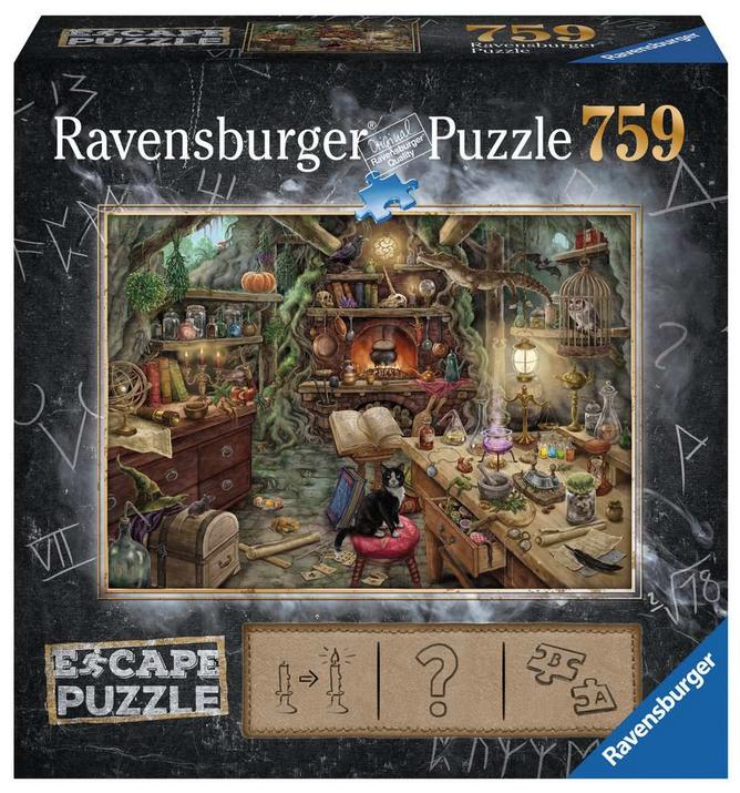 Escape puzzle – De heksenkeuken-Ravensburger