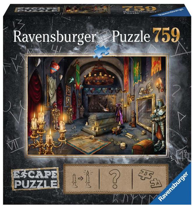 Escape puzzle – Kasteel van de vampier- Ravensburger
