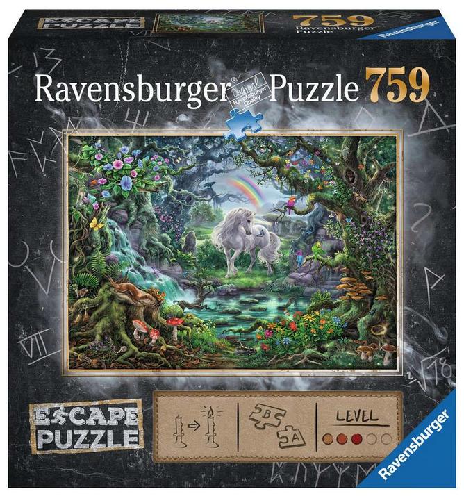 Escape puzzle – Unicorn 759 stukjes- Ravensburger