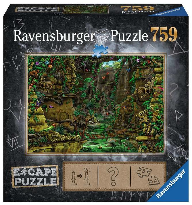 Escape puzzle – De tempel- Ravensburger