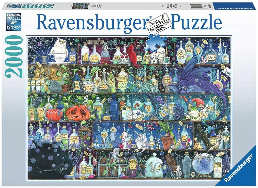 De giftkast – 2000 stukjes – Ravensburger