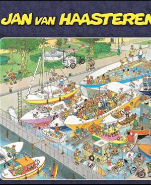 Jan van Haasteren – De Sluizen - 2000 stukjes