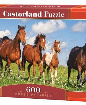 CP 060351 - Horse paradise - Castorland puzzel - 600 stuks