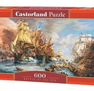 CP 060252 - Battle at the sea - Castorland puzzel - 600 stuks