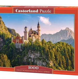 CP 103706 - View of the neuschwanstein castle , Germany - Castorland puzzel - 1000 stuks