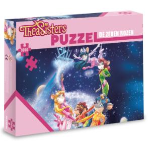 De zeven rozen Puzzel - Thea Sisters - 1000 stuks