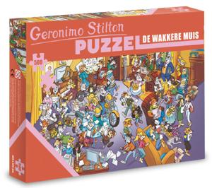De wakkere muis - puzzel - Geronimo Stilton - 500 stuks
