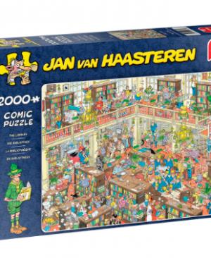 De Bibliotheek - Jan Van Haasteren - Puzzel Jumbo 2000 stuks