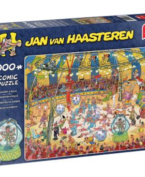 Acrobaten circus - Jan Van Haasteren - Puzzel Jumbo 1000 Stuks