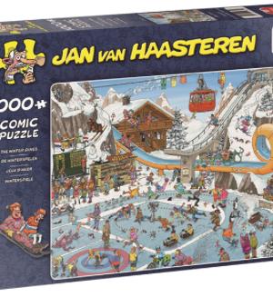 De Winterspelen - Jan Van Haasteren - Puzzel Jumbo 1000 stuks